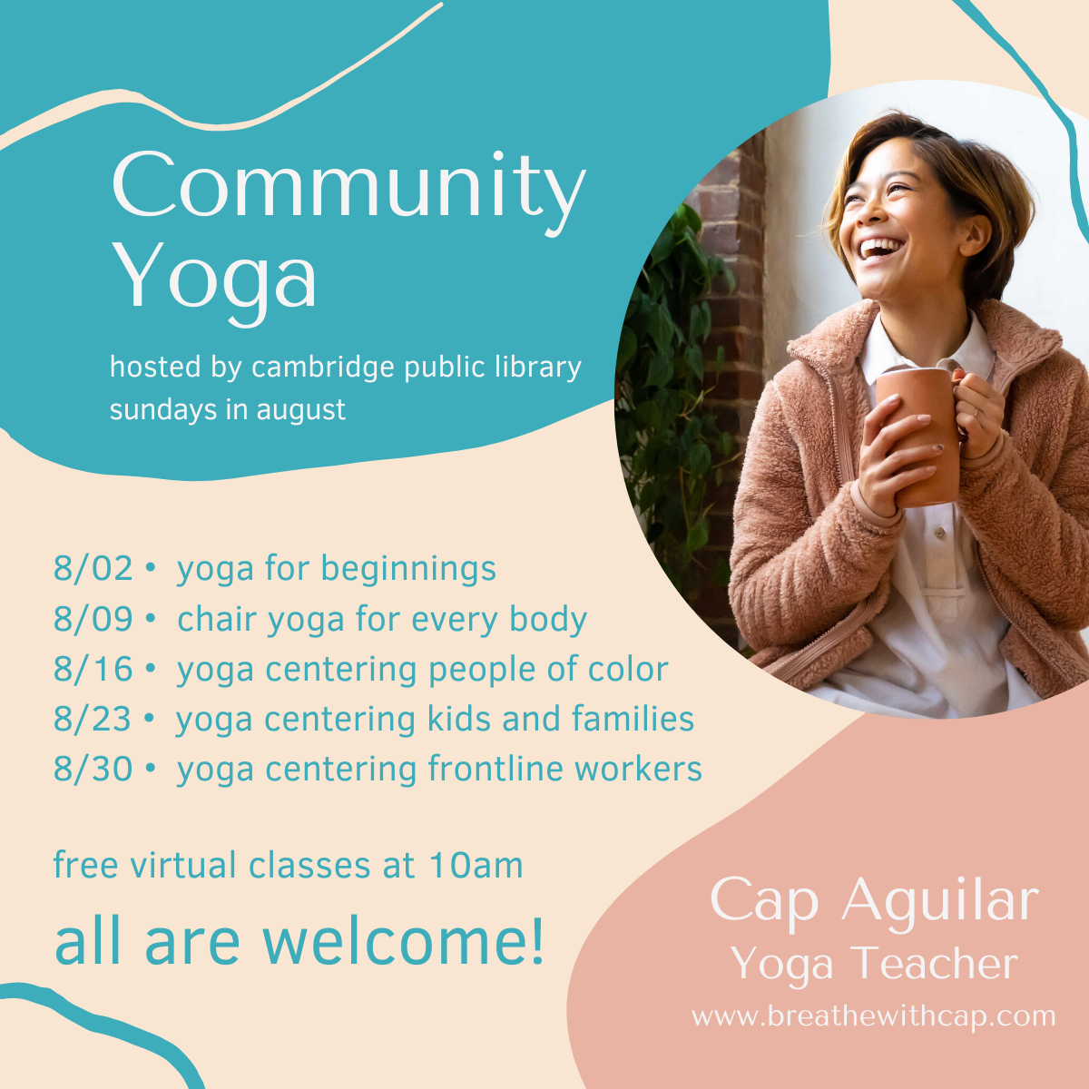 Event image for Community Yoga with Cap Aguilar