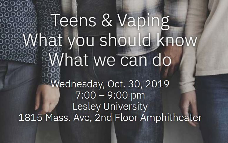 "picture of ""teens and vaping"" headline"