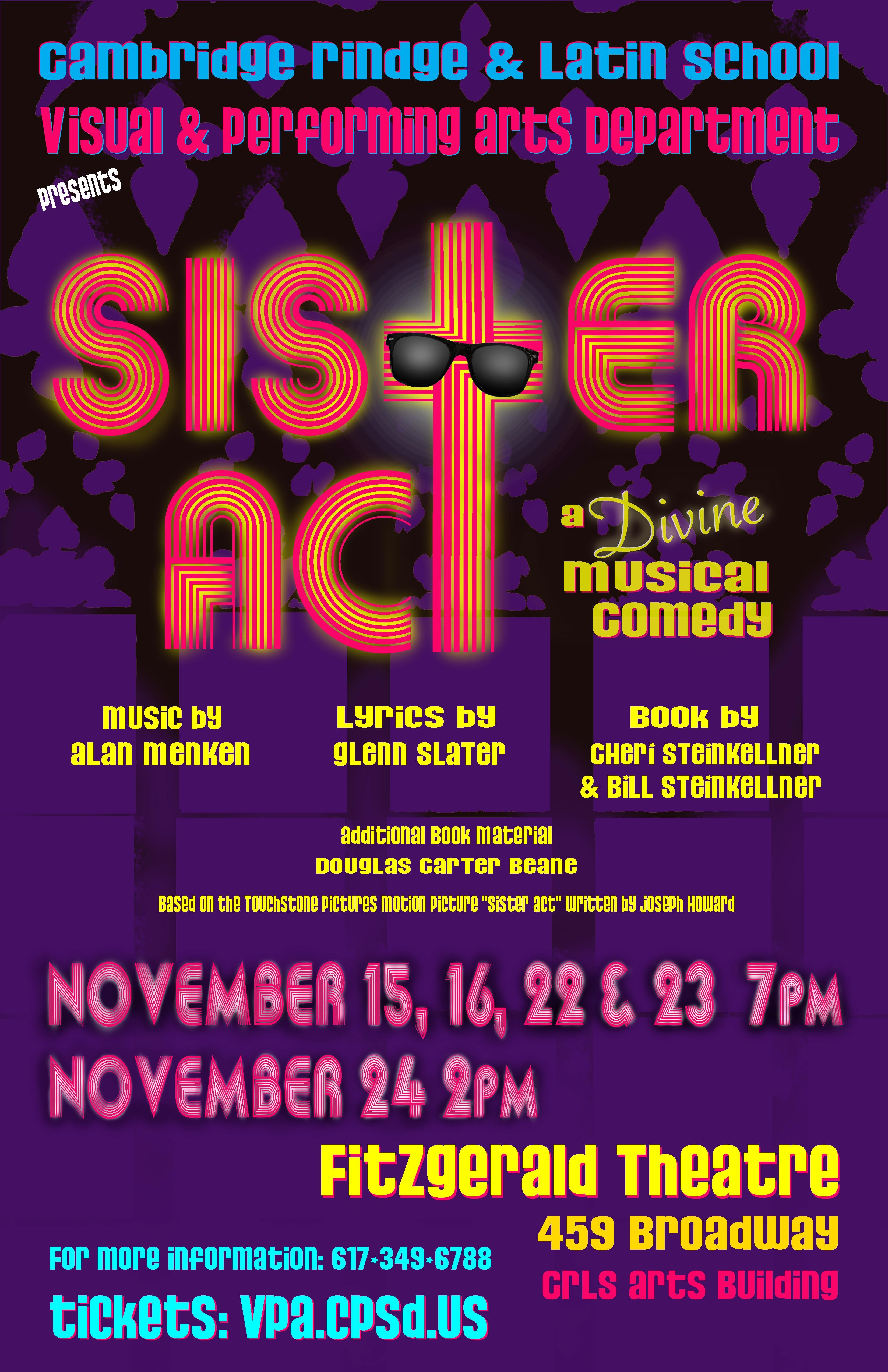 CRLS Fall Musical: Sister Act