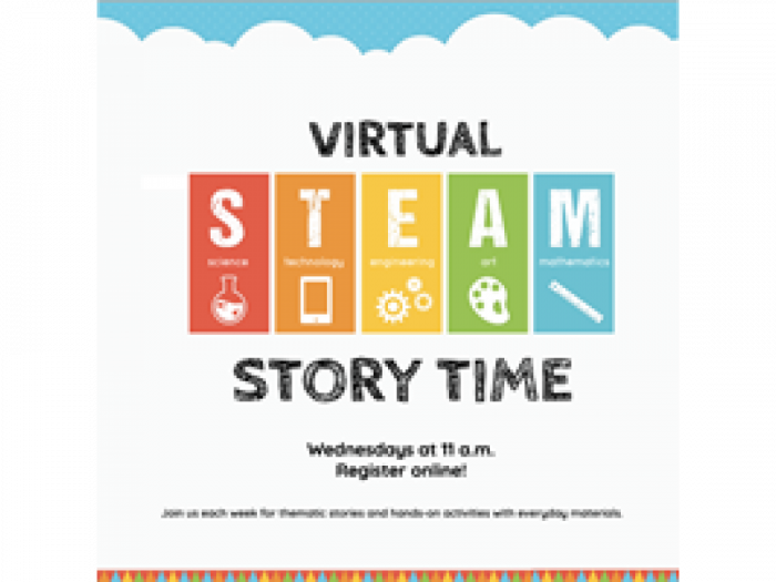 Event image for Virtual STEAM Story Time