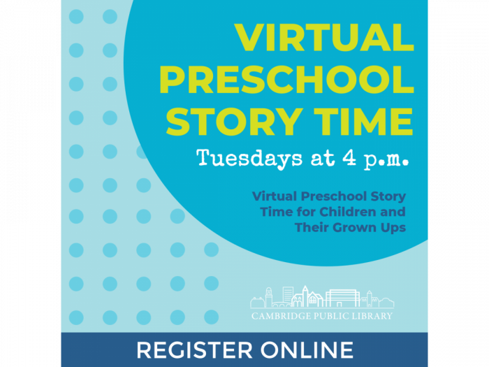 Event image for Virtual Preschool Story Time