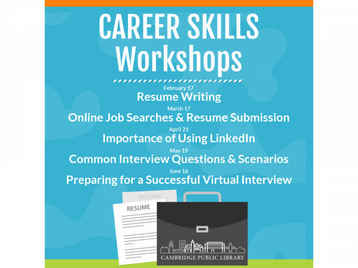 Event image for Career Skills: Resume Writing