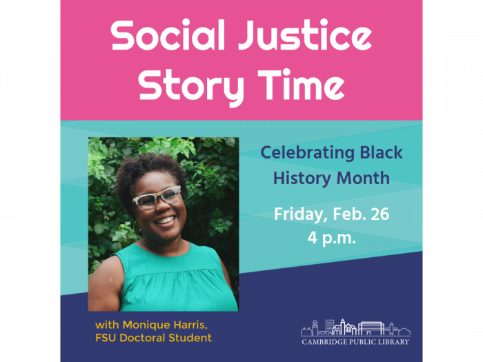 Event image for Social Justice Story Time