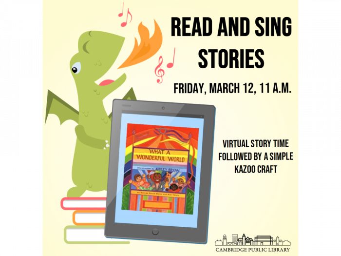 Event image for Read and Sing Stories