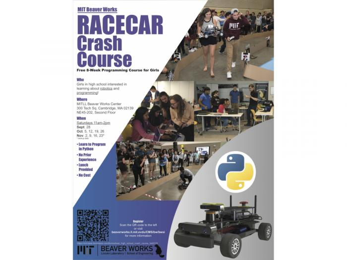 Image of RACECAR Crash Course with MIT Beaver Works program