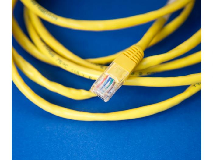 Internet cable photo.