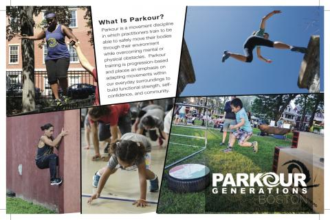 Parkour for all ages and abilities!