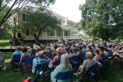 Image of Volunteering Opportunities at Longfellow National Historic Site program